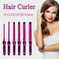 9mm 360° Rotating Electric Hair Salon Curler Tool Ceramic Curling Iron
