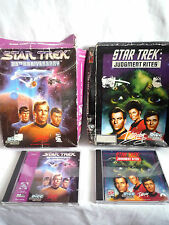 STAR TREK / 25TH ANNIVERSARY & STAR TREK JUDGEMENT RITES / BIG BOX PC GAMES