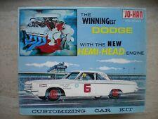 Model kit 1964 DODGE HT original issued kit Johan C-1164
