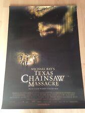Texas Chainsaw Massacre Kinoplakat Poster A0 84x119cm Michael Bay, J. Biel