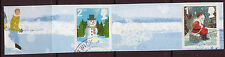 GREAT BRITAIN 2006 CHRISTMAS CARTOR, LITHO PAIR FINE USED