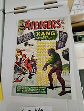 Avengers #8 6.0-6.5 FN To VF- Marvel 1st Appearwnce Of Kang