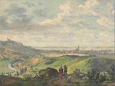 CARL HEINZMANN GERMAN THE CITY OF ARNBERG IN THE OBERPFALZ ARTWORK PRINT BB5058B