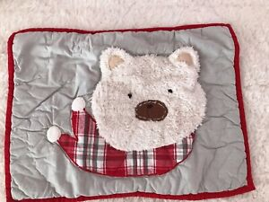 Pottery Barn Kids Baby ~Dear Santa  COLLECTION ~ Small Sham ~ RARE FIND~ HOLIDAY