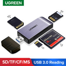 Ugreen SD Card Reader USB 3.0 High Speed CF Memory Card Adapter for MMC UHS-I