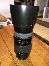 Minolta AF APO Tele Zoom 100-400mm f/4.5-6.7 Lens Hood Excellent