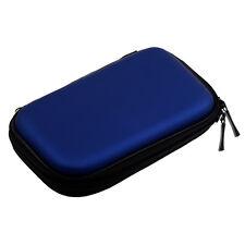 """Hard Disk Drive Shockproof Cover Bag Case 2.5"""" HDD Bag Hardcase Black,Blue D0S7"""