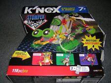 Rare K'Nex Collect & Build Robo Battlers Series Stomper Toy Set 12165 w/ Motor