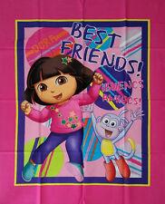 Brand New Dora The Explorer Cot Quilt Panel