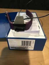 Fitbit Charge 2 Heart Rate Fitness Tracker  Plum Purple - Small, Great condition