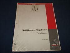 CASE PTX600 PRECISION TILLAGE SYSTEM PARTS BOOK MANUAL NWC-005V2