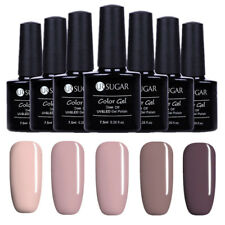 5 Bottles/Set  Serie Soak off UV Gel Nagellack Tipps Varnish Dekor UR SUAGR
