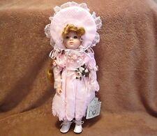 "Dynasty Doll Collection ,Fleurette Porcelain Doll 14"""