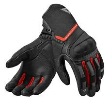 GUANTI MOTO GLOVES REV'IT STRIKER 2 NERO ROSSO BLACK RED SUMMER TOURING TG XXXL