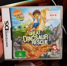 Go Diego Go Great Dinosaur Rescue -  (Nintendo DS/3DS) NDS - FREE POST *