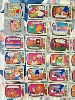 1990 Topps The Simpsons Cards Bart Homer Lisa Maggie 32 Card + 2 Sticker Lot