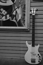 Rare Vintage Kramer 4 String Bass guitar Aluminum Fork Head