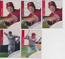 2000 Topps Tek #26 Scott Rolen Lot of 5 Patterns 1, 2, 3, 7, 15 Phillies