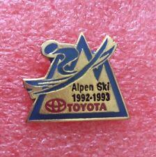 Pins Montagne Station De Ski ALPEN SKI 1992-1993 TOYOTA