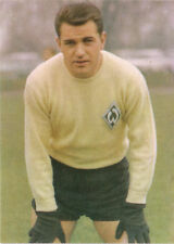 CALCIO Aral Bergmann immagine WM Inghilterra 1966 TW Günter Bernard SV fine ricercato Brema