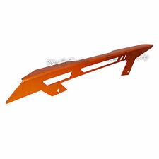 Arancione protezione copertura catena chain guard per 11-16 KTM Duke 125 200 390