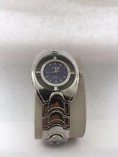 Geneva Men's Full Index Dial analogico quarzo due/Tono Bracciale Orologio Blu