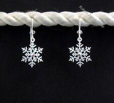"""Sienna Sky  """"Snowflake""""  Earrings with Rhinestone"""