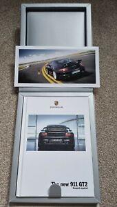 Porsche 911 GT2 (997) Hardback Brochure 2008 MY 106 Pages Presentation Box