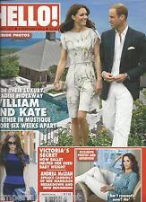 Hello magazine Kate Middleton Prince William Victoria Beckham Andrea McLean