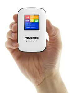 Muama Ryoko 4G-LTE Mobile Broadband Portable Wireless WiFi Route with Free SIM