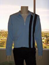 ELVIS POWDER BLUE Speedway Jacket (Tribute Artist Costume) Pre Jumpsuit Era
