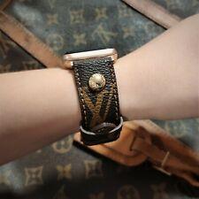 Handmade Louis Vuitton Apple watch band Series 6, 5,4,3,2