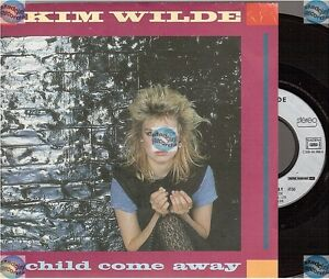 "KIM WILDE CHILD COME AWAY france french 45T 7"" JUST ANOTHER GUY"