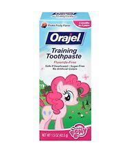 Orajel Toddler My Little Pony Training Toothpaste, Pinky Fruity 1.5 oz