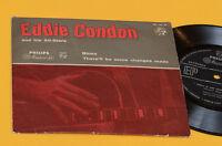 """EDDIE CONDON 7"""" BLUES TOP JAZZ ORIG ITALY '60"""