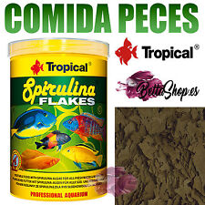COMIDA PARA PECES ESPIRULINA 100ML COMIDAS DE PECES COMIDA PECES ACUARIO PECERA