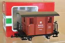 LGB 41150 G SCALE DR DRG BROWN SALZTREUWAGEN SALT CAR WAGON 99 40 91 nk