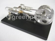 Hot Air Stirling Engine Motor Power Toy Experiment Education Model SL01M G @US