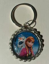 ANNA & OLAF, Disney's FROZEN, Bottle Cap on Key Ring