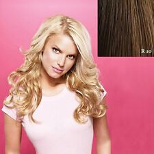 """Jessica Simpson Hair Do 23"""" Wavy Clip on hair Extensions Ken Paves OPEN BOX"""
