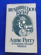 RESURRECTION ROW - FIRST EDITION BY ANNE PERRY
