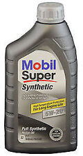 MOBIL SUPER SYNTHETIC 5W20  FULL SYNTHETIC MOTOR OIL - CASE OF 6