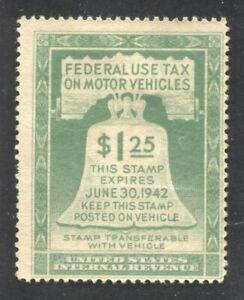 Motor Vehicle Use Tax revenue Scott RV3