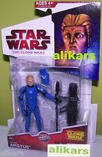 N CW31 - CAPTAIN ARGYUS - Action Figure Star Wars The Clone Wars Series No.31