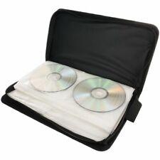 80 Sleeve CD DVD Disc Blu Ray Carry Case Holder Bag Wallet Storage Ring Binder