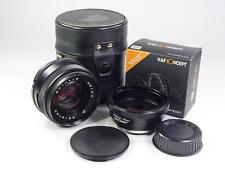 Exc portrait lens MC Volna-3 2.8/80mm Kiev 60 Pentacon Nikon s/n 8919723