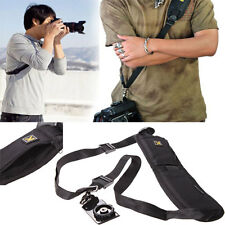 Quick Rapid Camera Shoulder Neck Strap Sponge Pad Belt Sling For SLR DSLR Nikon