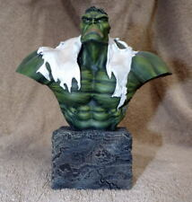 """INCREDIBLE HULK 6"""" BUST w PROFESSIONAL PAINT"""