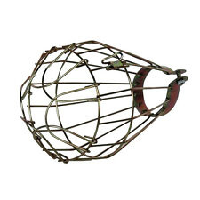 Industrial Vintage Bulb Shade Guard Clamp Metal Lamp Cage Trouble Light Lanterns