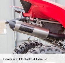 Honda TRX 400EX 1999-2014 HMF performance Series BLACKOUT Slip On Exhaust